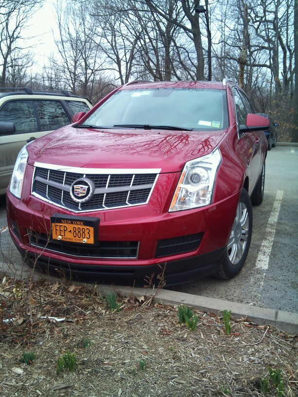 Cadillac Srx Almost Every Thursday